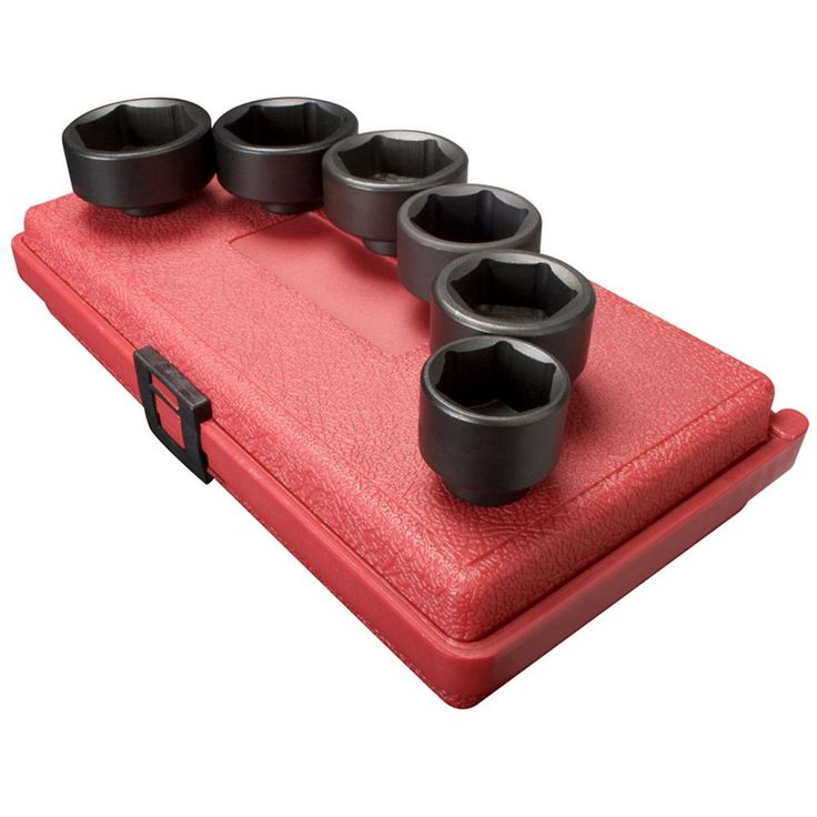3/8 in. Drive Oil Filter Socket Set (6-Piece)