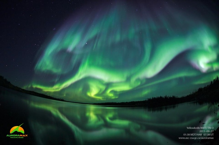 Aurora borealis.  My friend, Sarah, reminded me that this is on my bucket list so I had to pin it.