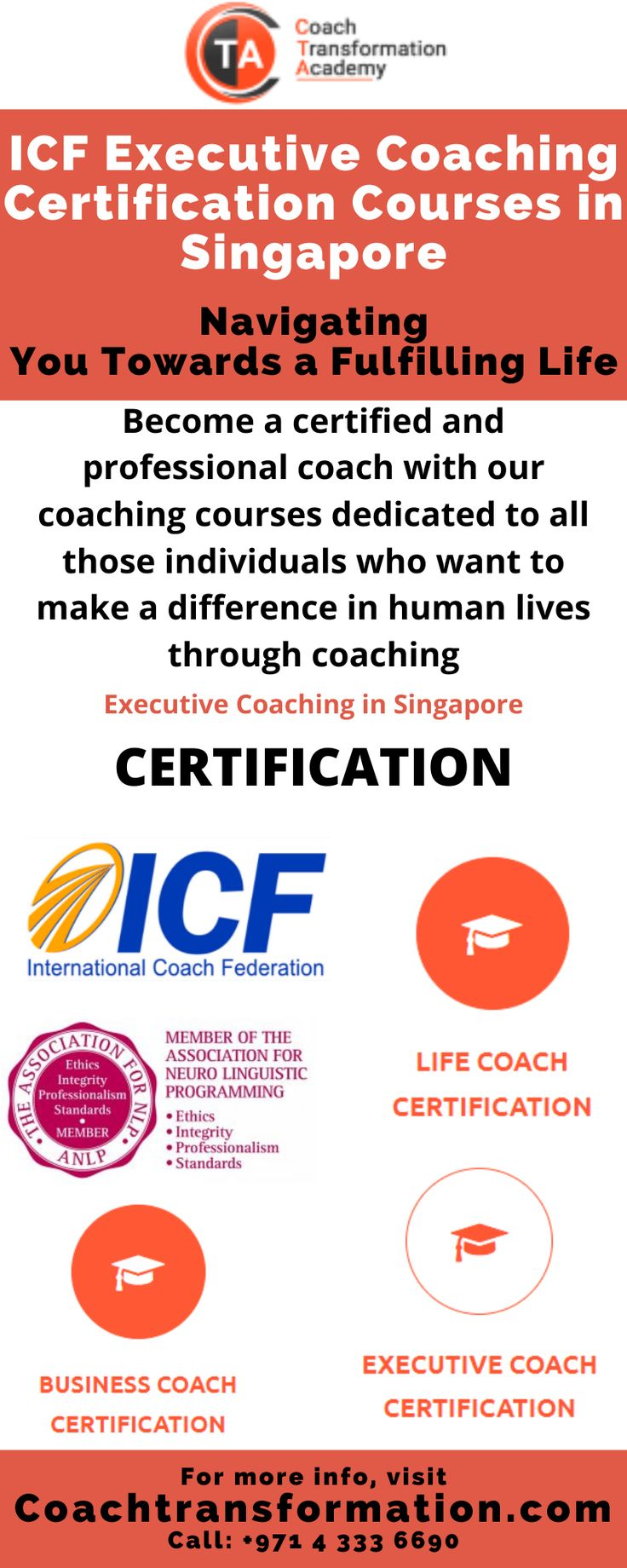 coaching coach icf academy coachtransformation certification transformation courses career