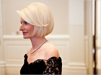 Newt Gingrich's wife Callista by Brendan Hoffman for The New York Times