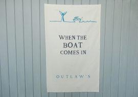 Outlaw's Tea Towel