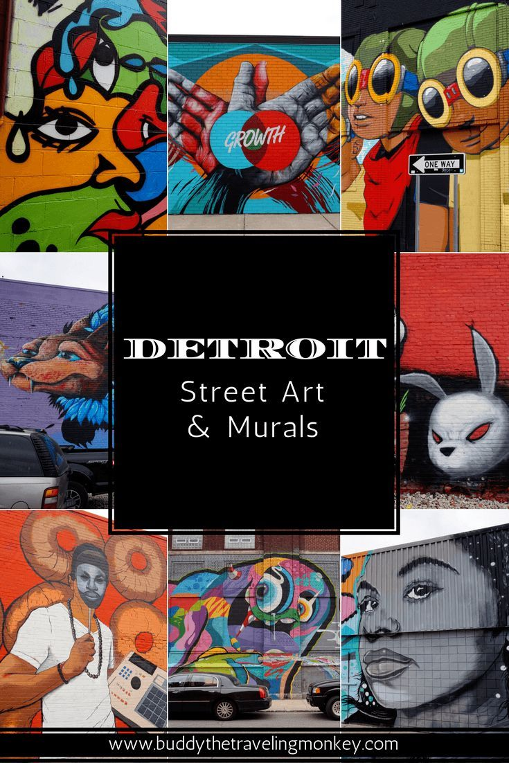 Detroit's street art scene is on the rise & one of the best places in the city to view pieces done by local & international muralists is Eastern Market. via @BuddyTTMonkey