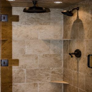 Rustic Shower Door Ideas
