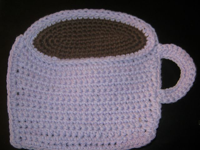 Ravelry: CandidQuilts' Mug of Cocoa Dishcloth