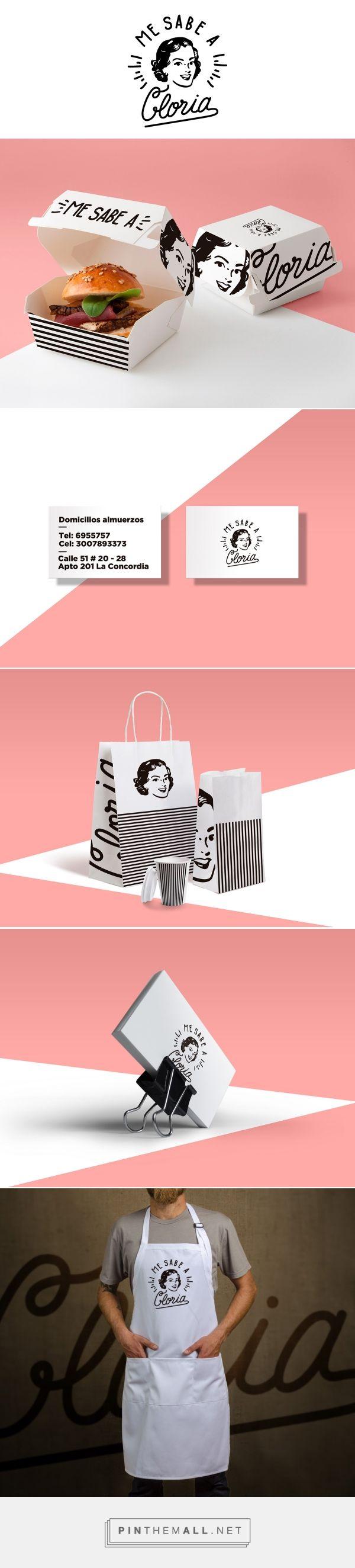 Me sabe a Gloria Branding on Behance   Fivestar Branding – Design and Branding Agency & Inspiration Gallery