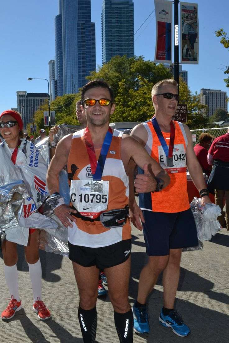 Finished the Chicago Marathon!