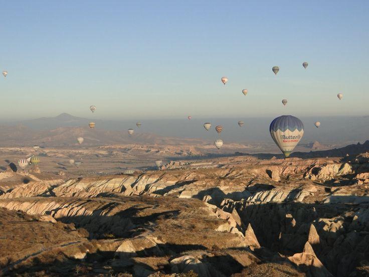 Passeio de Balão na Capadócia – Turquia