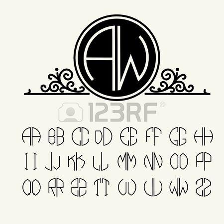 Connu Plus de 25 idées uniques dans la catégorie Logo rond sur Pinterest  HC77