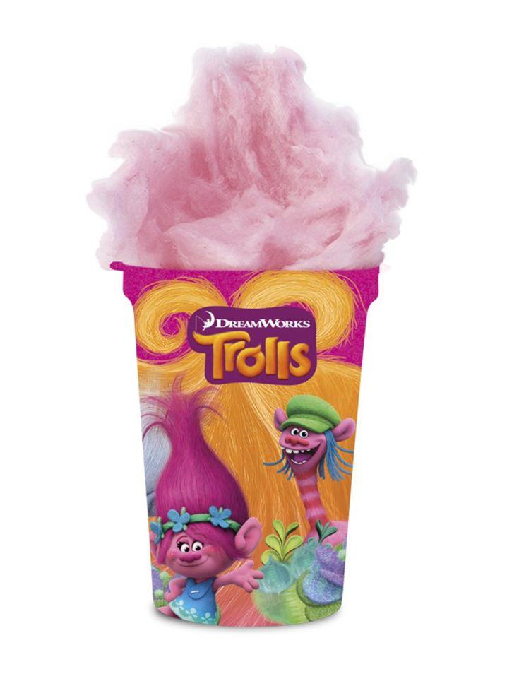 Vasetto di zucchero filatoTrolls™ su VegaooParty, negozio di articoli per feste. Scopri il maggior catalogo di addobbi e decorazioni per feste del web,  sempre al miglior prezzo!