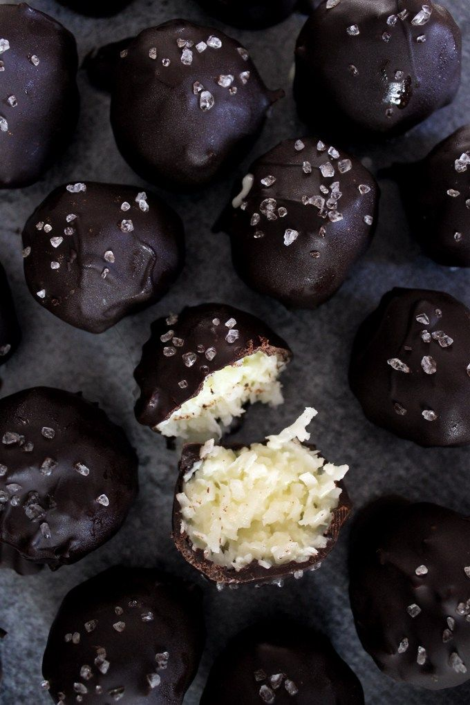 Chocolate and coconut is my version of chocolate and peanut butter. They're just meant to be together. They're so perfect for each other that they should have one of those cute/nauseati…