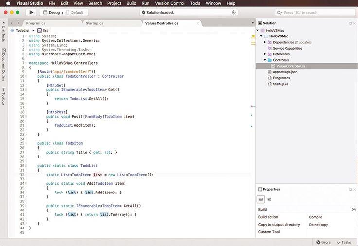 Mac için Microsoft Visual Studio geliyor. Kıyamet Alameti değil, Microsoft Değişiyor! Microsoft Visual Studio for Mac Önizleme sürümü!