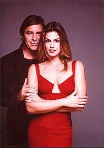 John Casablancas with Cindy Crawford
