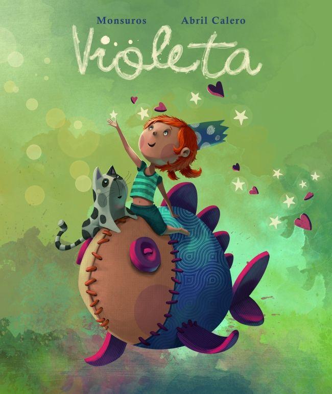 VIOLETA. - Violeta no puede evitar hacerse pipí en la cama cada noche y por la mañana su madre tiende las sábanas al sol, ¡qué vergüenza! Hasta que un día...
