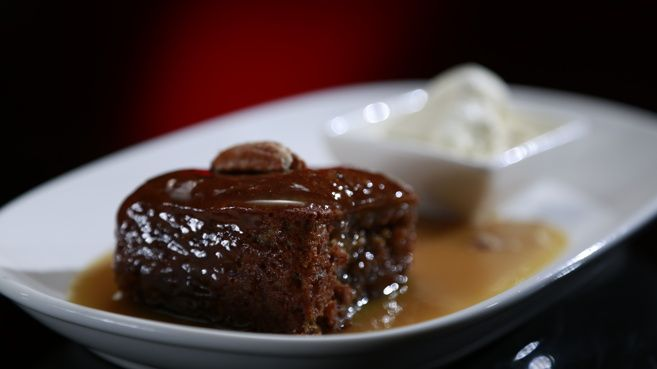 Today I baked - Sticky Date Pudding with Vanilla Ice Cream - so good!