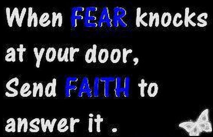 Quotes Faith Vs Fear. QuotesGram