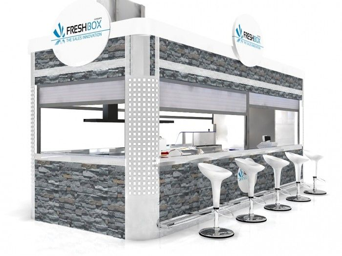 1000 images about coffee kiosk on pinterest coffee for Indoor food kiosk design