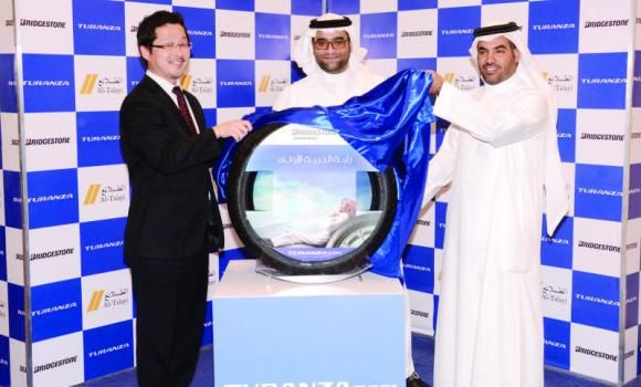 Al-Talayi-Bridgestone introduces new tire
