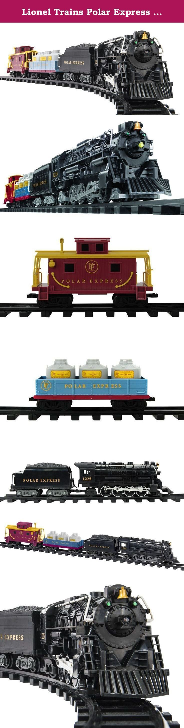Lionel Trains Polar Express G-Gauge Freight Train Set. We are welcoming the 10th Anniversary of The Polar Express by expanding our G Gauge Polar Express assortment with our NEW Polar Express G Gauge Freight Set. Not only does this set have superior craftsmanship and irresistible charm, it features a steam locomotive and tender, gondola equipped with plenty of hot chocolate for The Polar Express passengers and cupola caboose. This is the perfect set to add to your current G Gauge…