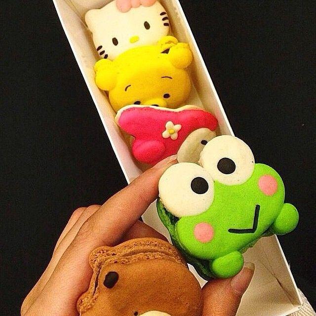 Unusual macarons! #strange #macarons #sweet #Qriosando