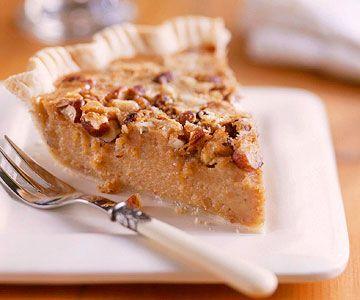 Sweet Potato and Hazelnut Pie