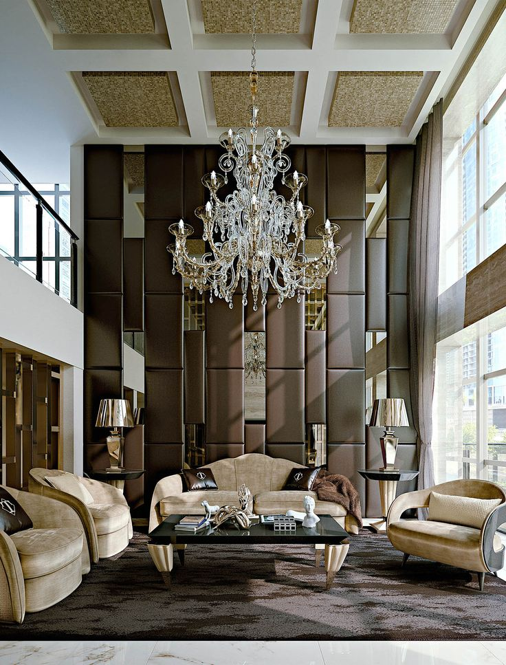 Design Of Furniture For Living Room: Italian Furniture For Exclusive And Modern Design