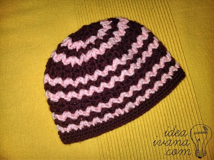 Easy Zig Zag Knitting Pattern : Best images about crochet and knitting ideas on
