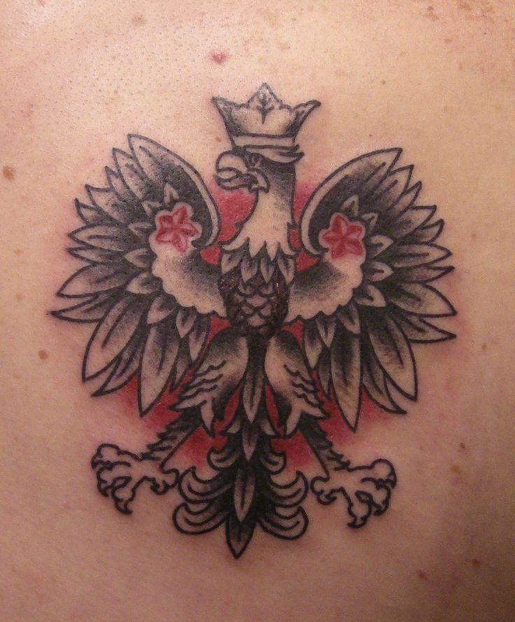 Polish Eagle Tattoos Pictures