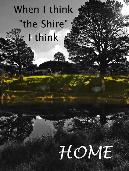 The Shire. I really do live in the Shire, though :)