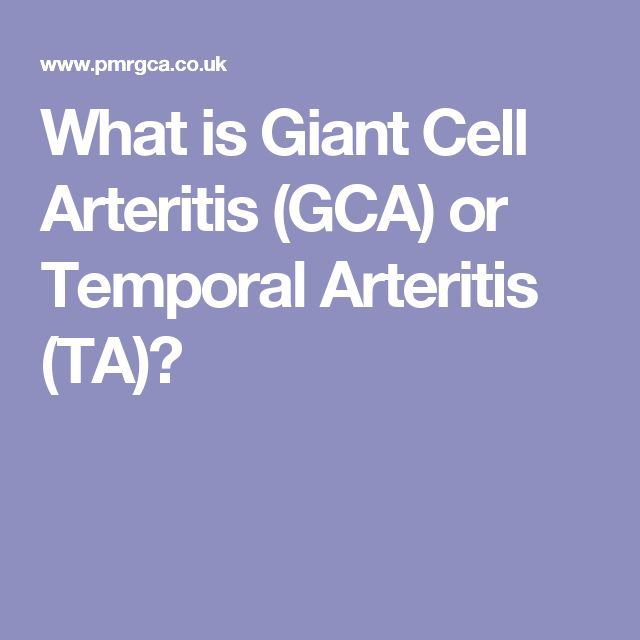 What is Giant Cell Arteritis (GCA) or Temporal Arteritis (TA)?