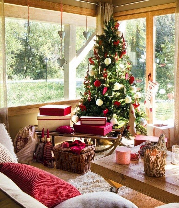 Die besten 25+ Rote akzente Ideen auf Pinterest Rote küche - wohnzimmer deko weihnachten