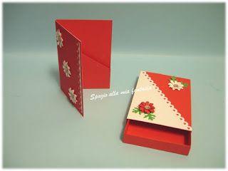 spazio alla mia fantasia: scatolina romantica con biglietto portasoldi