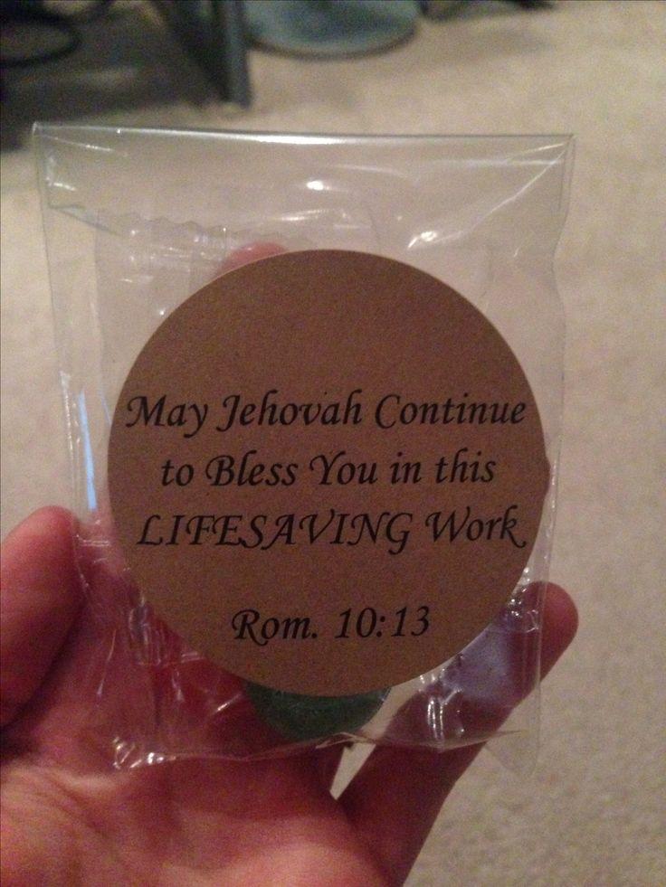 Lifesaver Pioneer school gifts #jw #candy
