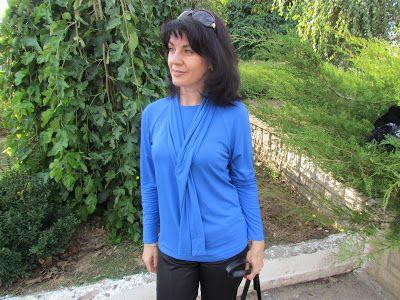 Anzhelika Grebeniuk: Забытая блуза и меховой жилет