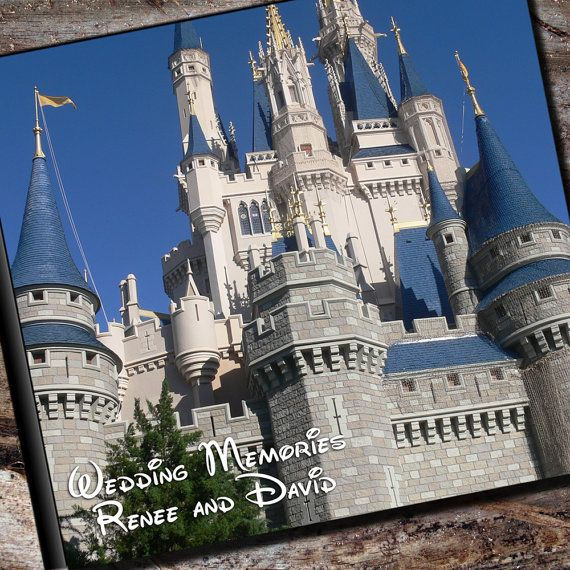Disney Wedding Album Personalized Photo Album by AlbumOptions, $55.95