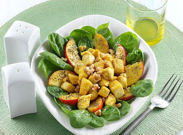 Denny Chef Blog: Insalata di pollo al curry e pesche