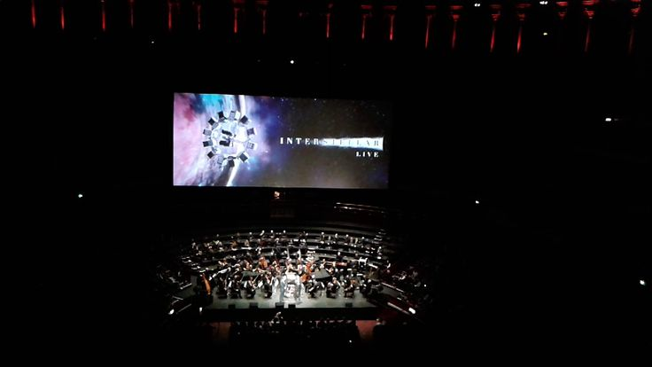 Hans Zimmer being introduced at Interstellar Live - Royal Albert Hall - 2015