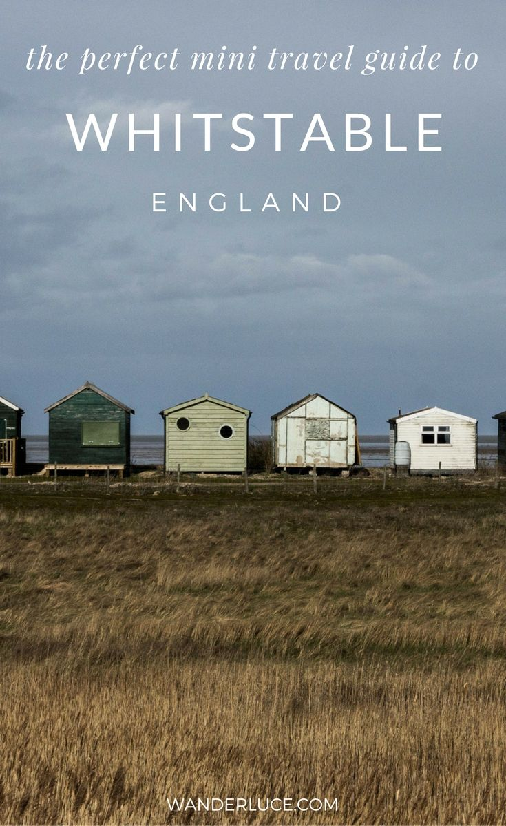 You really should take a little trip to the Kent town of Whitstable. A charming, off the beaten path place in England, here's my little travel guide full of things to do and see, and where to stay and eat.