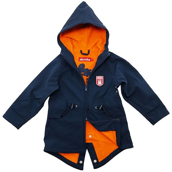 Derbe Kinder Jacke Island Friese navy