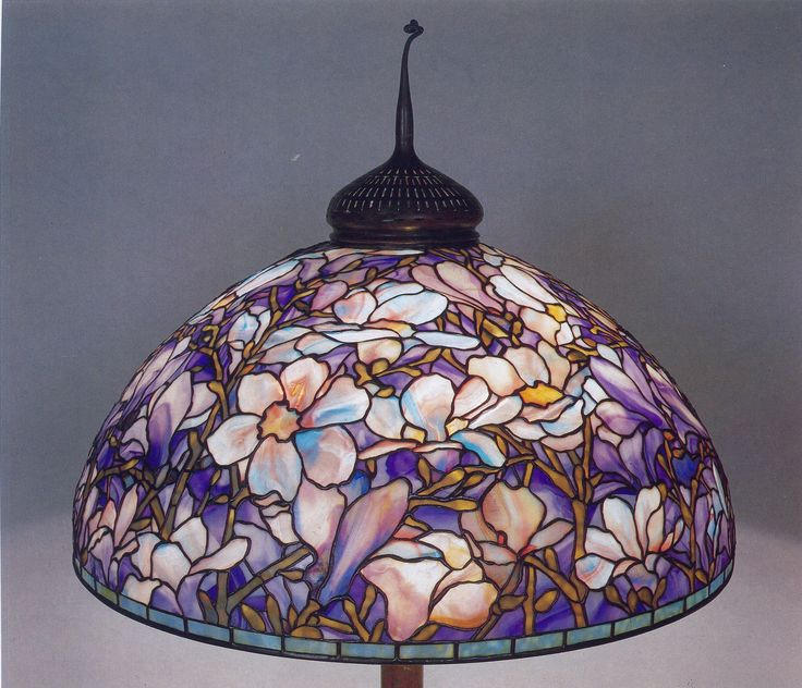 Genuine tiffany lamps 142 pinterest floor lamp magnolia floor lamp shade 1a image 11 mozeypictures Choice Image