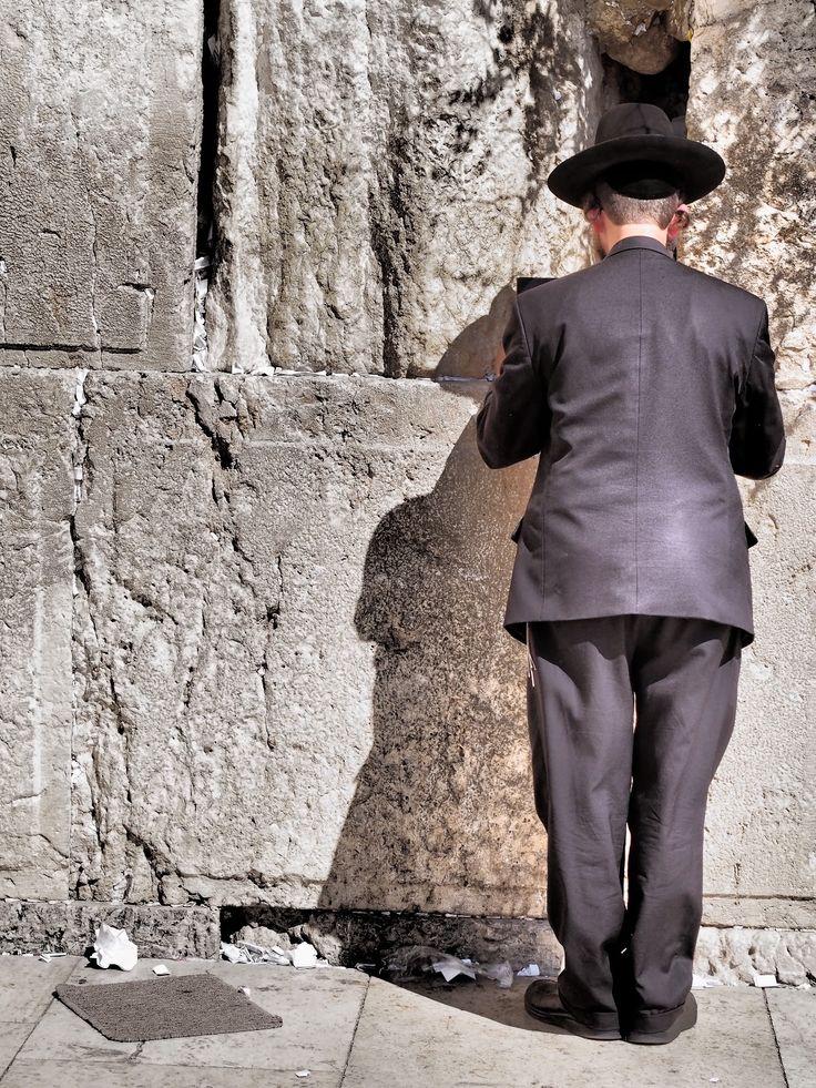 The Western Wall Jerusalem Israel.