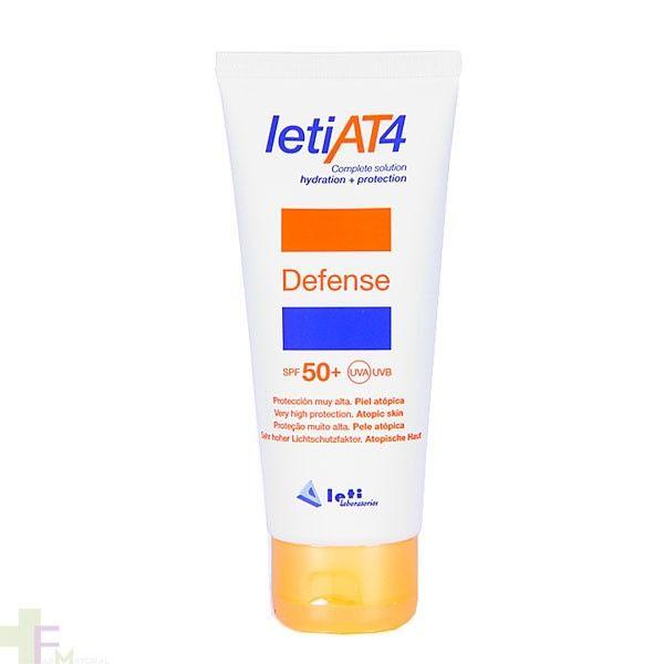 Para #pieles #atópicas usa #LETI AT4 SPF 50+, ¡con #barrera #protectora específica!