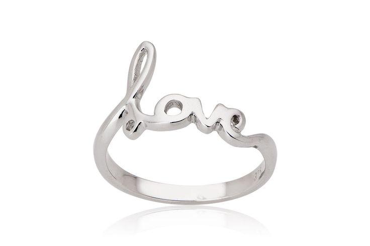 Just Love RingΔαχτυλίδι από επιχρυσωμένο ασήμι 925.Price : 60€