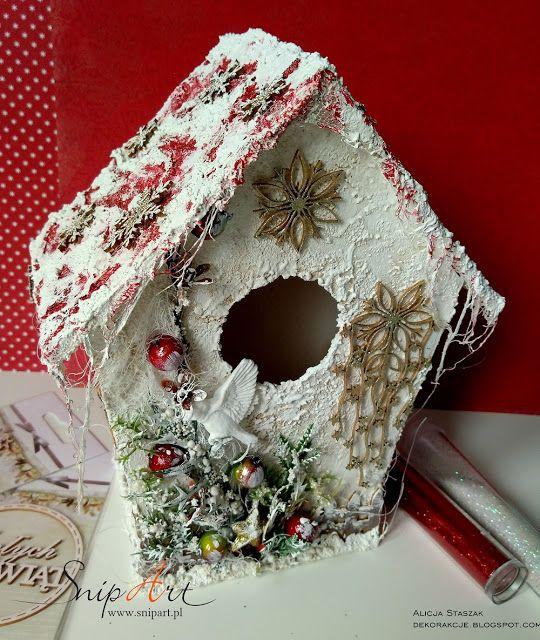 DEKORakcje: Winter birdhouse
