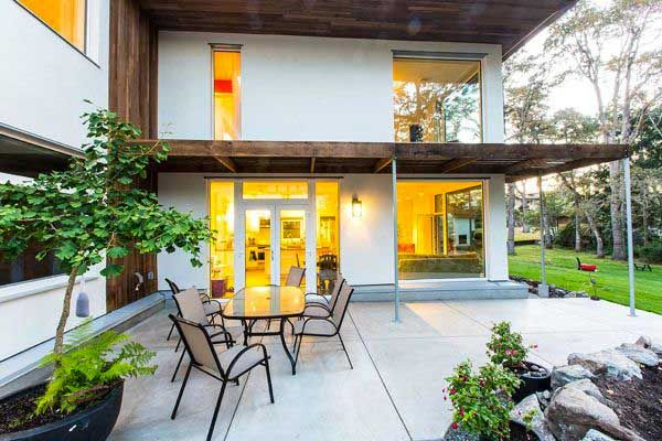 The Bernhardt Passive House in Victoria, B.C. requires 90 per cent less energy than the average home.
