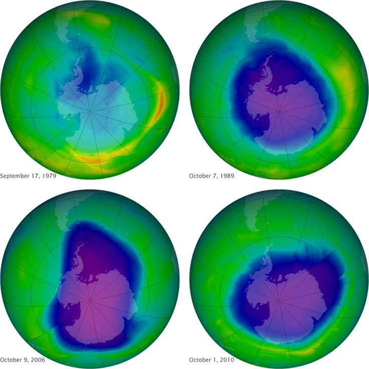 Scientists say the ozone layer is recovering ... actual good news in a week full of unnerving news about climate change