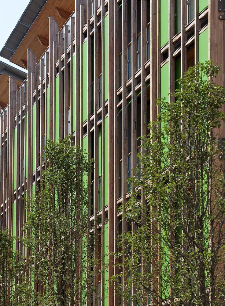 """Le Albere"" area, Trento, Italy. Project by Renzo Piano"