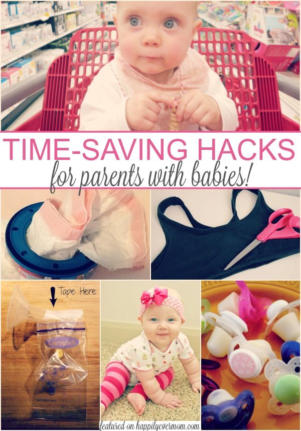These baby hacks are awesome! There are over 20 time saving tips and tricks when you have a baby in the house. This is great for new parents, but even I hadn't heard about these when my second baby was born!