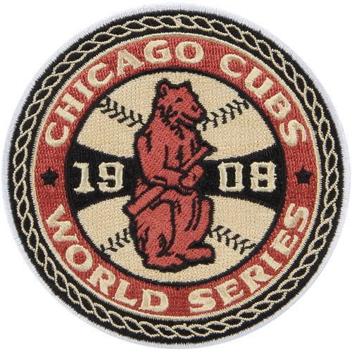 Chicago Cubs AUTHENTIC 1908 World Series Champions Collector Patch MLB  #TheEmblemSource #ChicagoCubs