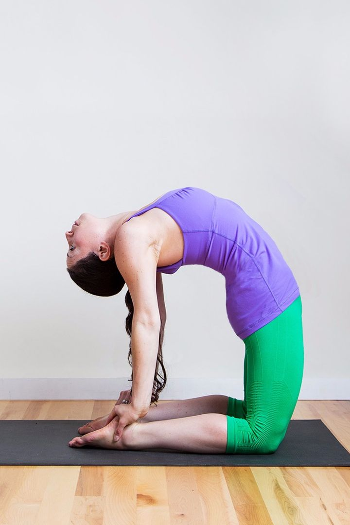 The pain and discomfort of a bloated belly aren't something you just have to suffer through, and pressing on your belly in different ways can help relieve gas. Try this yoga sequence so you can start feeling better.