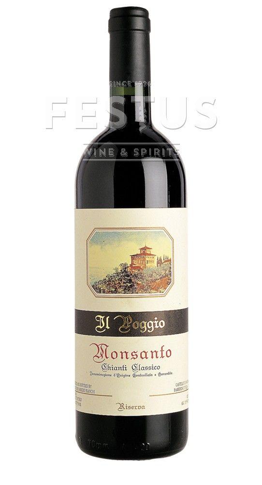 Festus | Castello di Monsanto Chianti Classico Riserva Il Poggio 2011